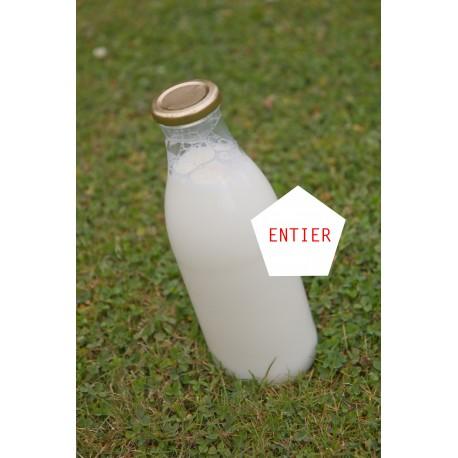 1L lait cru entier